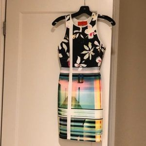 Clover Canyon Neoprene Sleeveless Dress Size XS